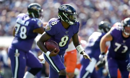 Lamar Jackson dos Baltimore Ravens
