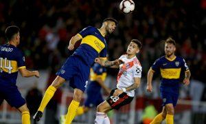 Jogadores em Boca Juniors x River Plate