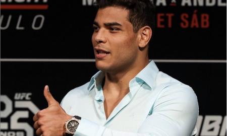 Paulo Borrachinha é atleta peso-méido do UFC