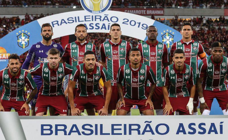 Jogadores do Fluminense