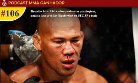 Podcast MMA Ganhador #106 com Ronaldo Jacaré