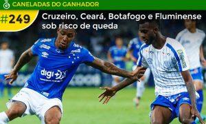 Cruzeiro não perde, mas também não vence, e segue ameaçado de rebaixamento