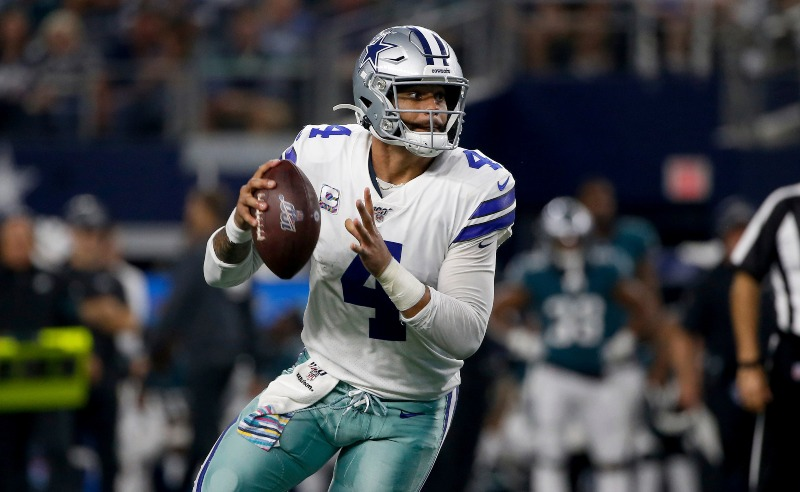 Dak Prescott do Dallas Cowboys