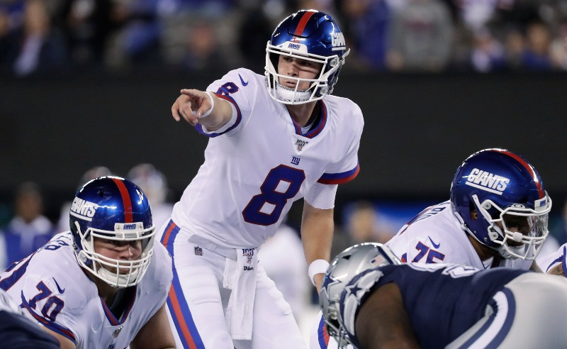 Daniel Jones do New York Giants