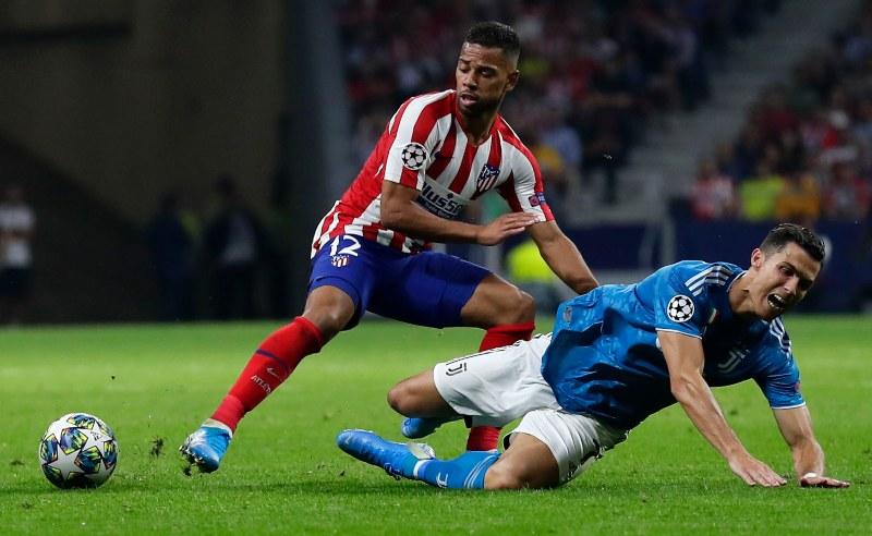 Renan Lodi do Atletico Madrid
