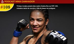 Viviane Araújo é lutadora peso mosca. do UFC