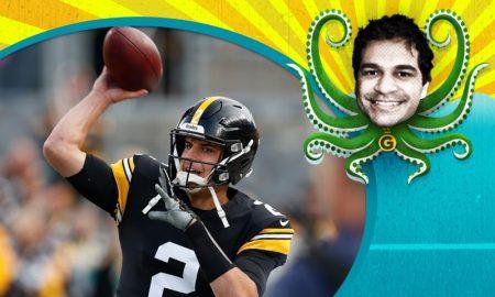 Mason Rudolph do Pittsburgh Steelers