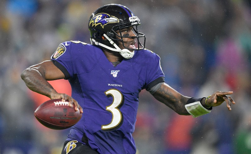 Robert Griffin do Baltimore Ravens