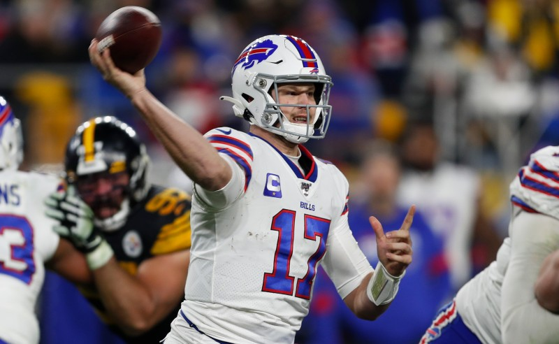 Josh Allen do Buffalo Bills