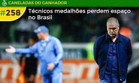 Os medalhões perdem espaço no futebol brasileiro e os técnicos estrangeiros seguem em alta para 2020