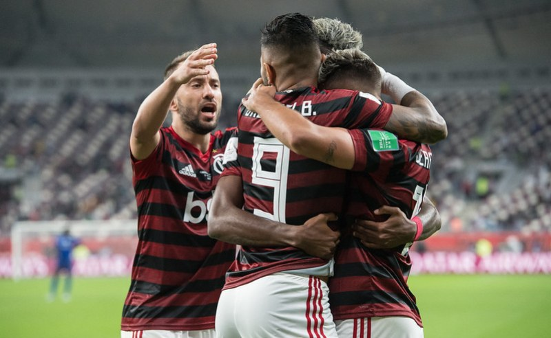 Jogadores do Flamengo