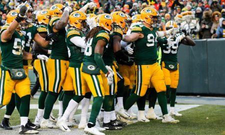 Jogadores do Green Bay Packers