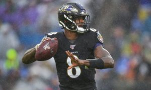 Lamar Jackson do Baltimore Ravens
