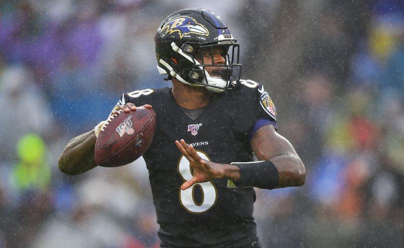 Lamar Jackson do Baltimore Ravens