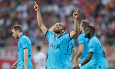 Lucas Moura do Tottenham