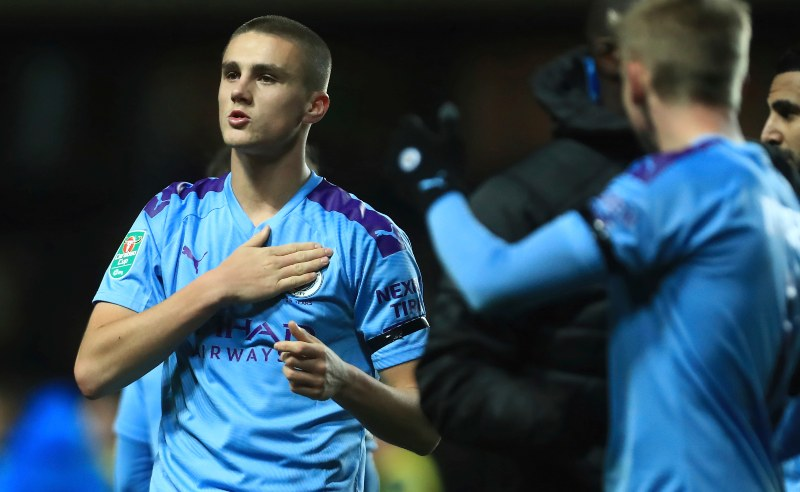 Taylor Harwood-Bellis do Manchester City