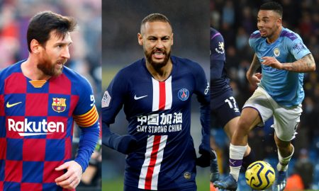 Messi Neymar Gabriel Jesus Champions League