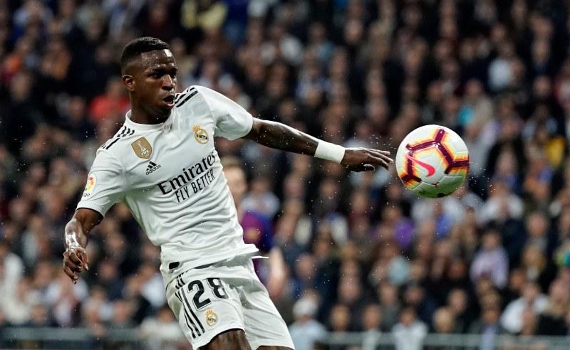 Vinicius Junior do Real Madrid