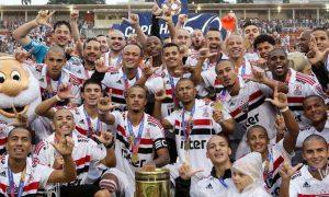 Time SPFC Campeão da Copinha