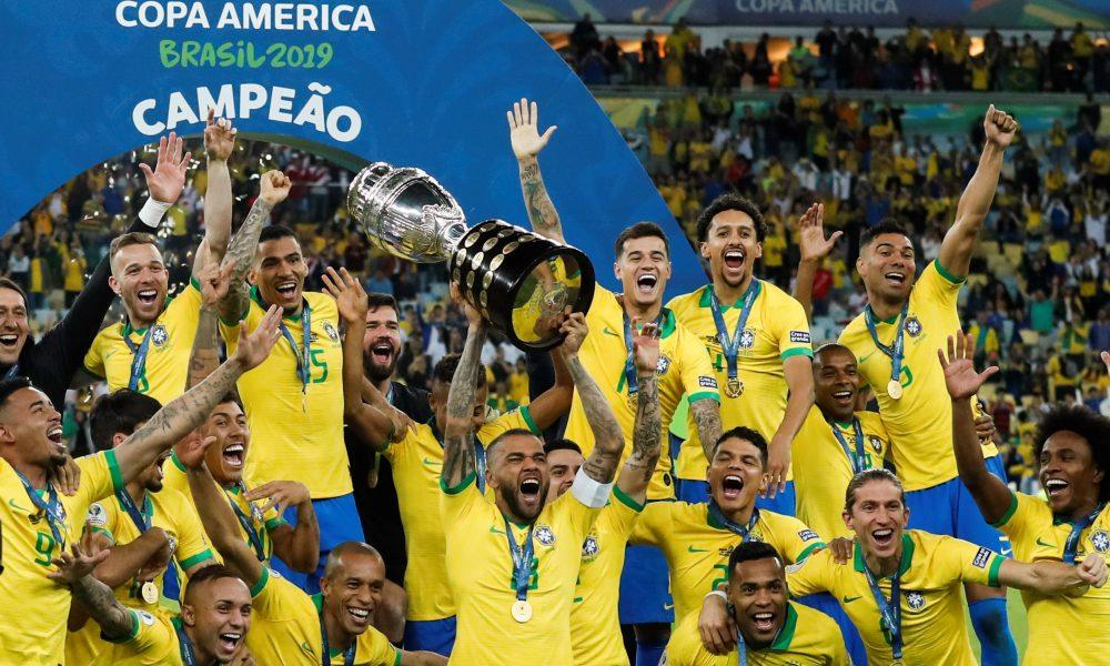 Seleção Brasileira Campeã Copa América