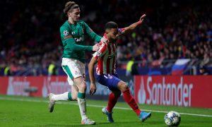 Renan Lodi do Atlético de Madri