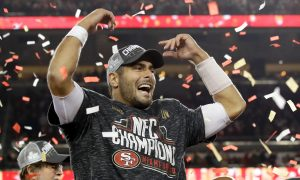 Jimmy Garoppolo do San Francisco 49ers