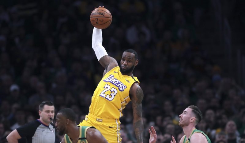 LeBron James do Los Angeles Lakers