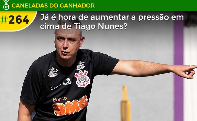 Ofensivo, Corinthians de Tiago Nunes segue tropeçando