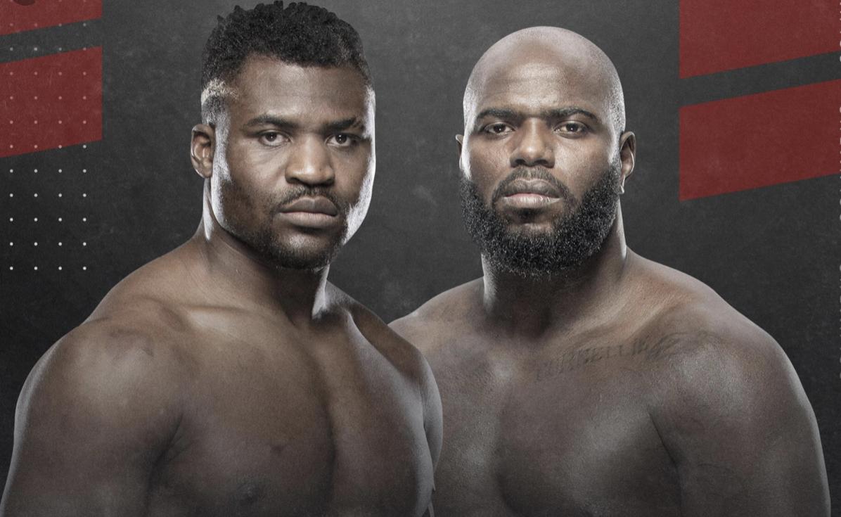 Francis Ngannou encara Jairzinho Rozenstruik no UFC Columbus