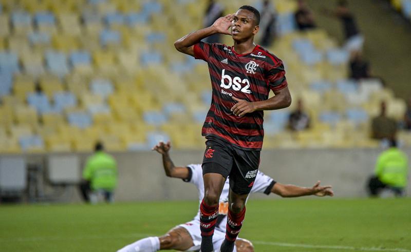 Lucas Silva do Flamengo