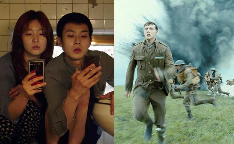 1917 e Parasita Favoritos ao Oscar 2020