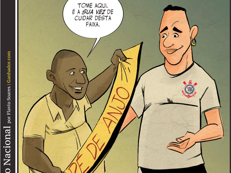 Marcelinho Carioca passa a faixa