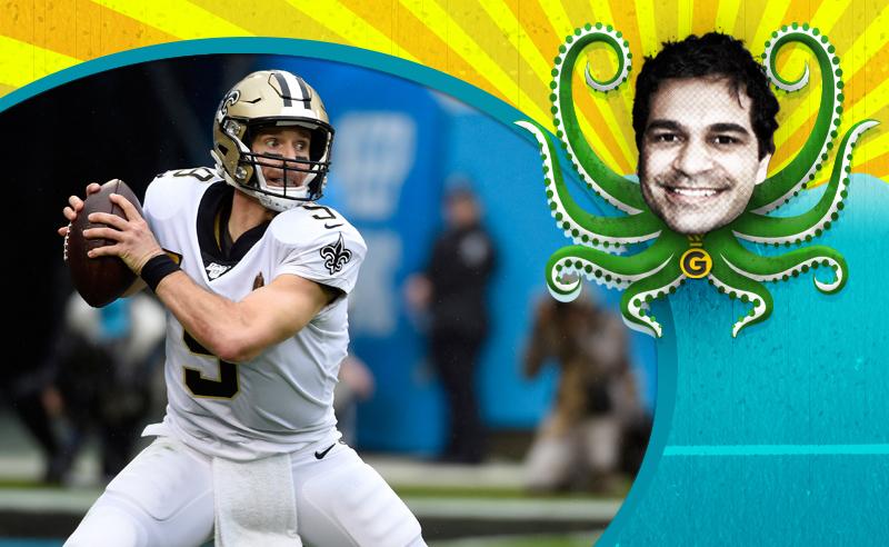 Drew Brees do New Orleans Saints