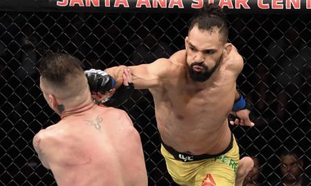Michel Pereira enfrentou Diego Sanchez pelo UFC Rio Rancho