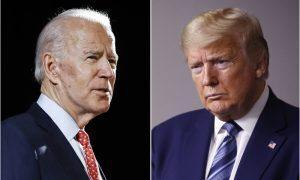 Donald Trump e Joe Biden Eleições EUA