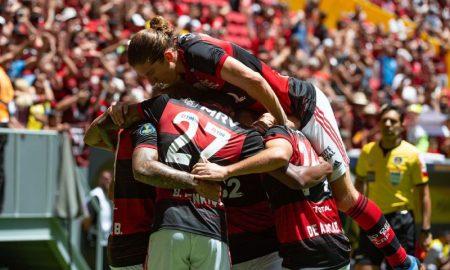 Gol do Flamengo