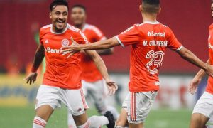 Rodrigues e Guilherme do Internacional