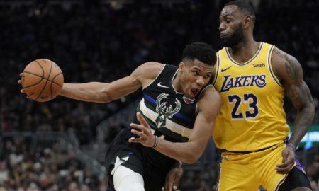 LeBron e Giannis na NBA
