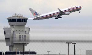 Avião da American Airlines