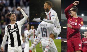 Cristiano Ronaldo, Neymar, Firmino