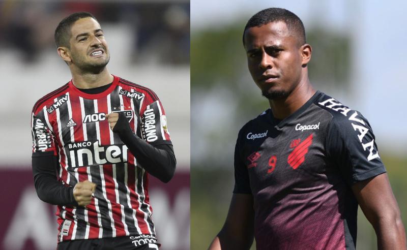 Pato do SPFC e Carlos Eduardo do CAP