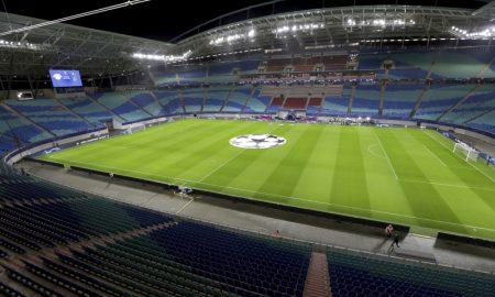 Estádio vazio por coronavírus