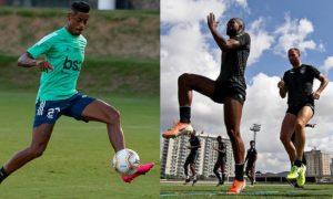 Treino Flamengo e Botafogo