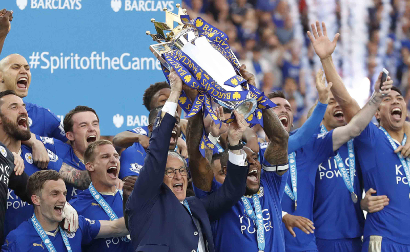 Leicester Campeão EPL 2016