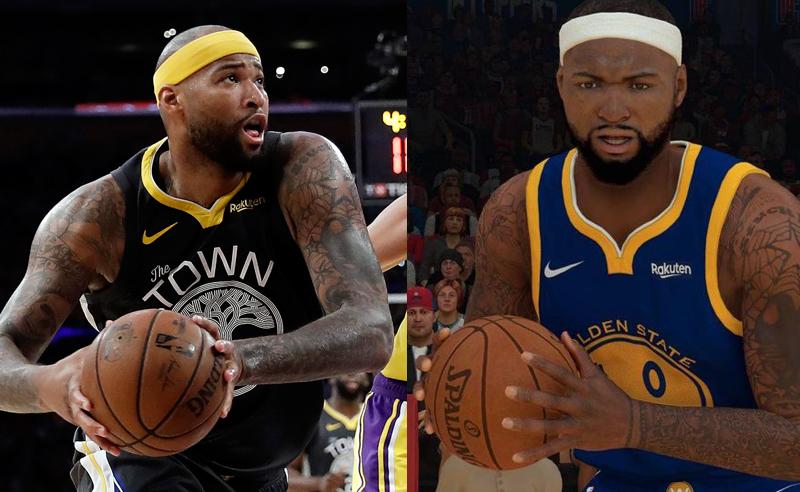 DeMarcus Cousins NBA2K