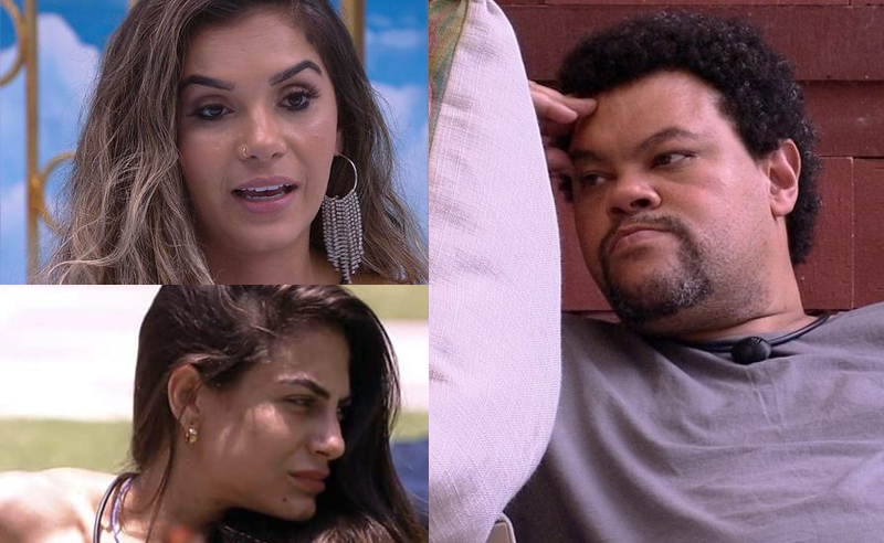 Babu, Gizelly e Mari no Paredao BBB20