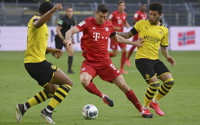Bayern vs Borussia Bundesliga 2020