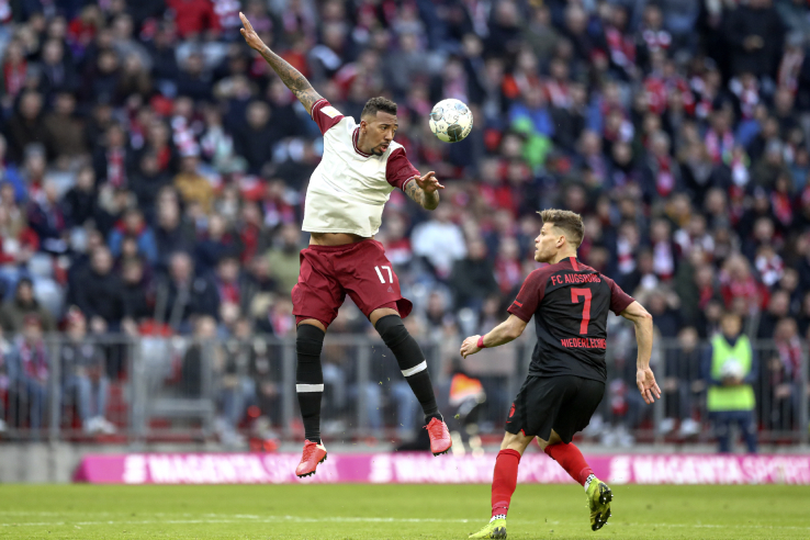 Boateng do Bayern de Munique Bundesliga