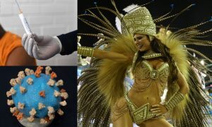 Covid Vacina Carnaval Rio 2021