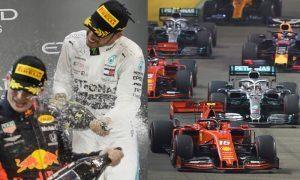 Hamilton e Verstappen da F1 2020
